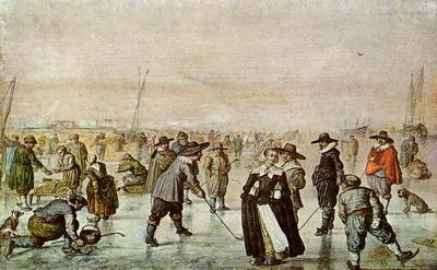 Winterlandschap van Hendrick Avercamp